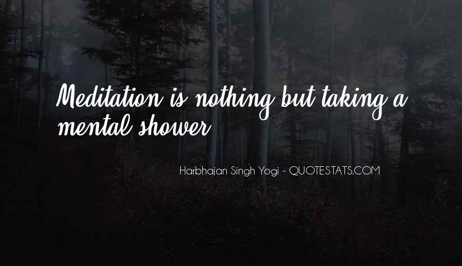 Harbhajan Yogi Quotes #558571
