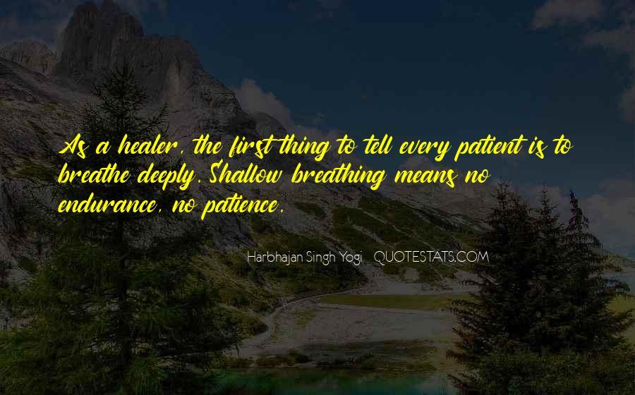 Harbhajan Yogi Quotes #653752