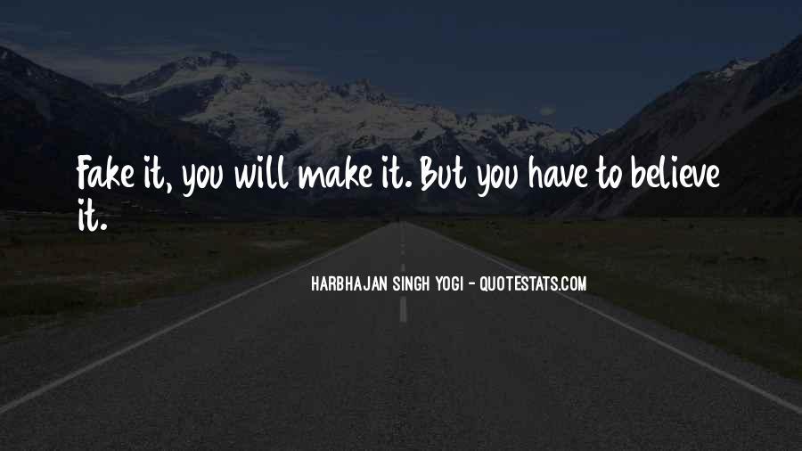 Harbhajan Yogi Quotes #676881