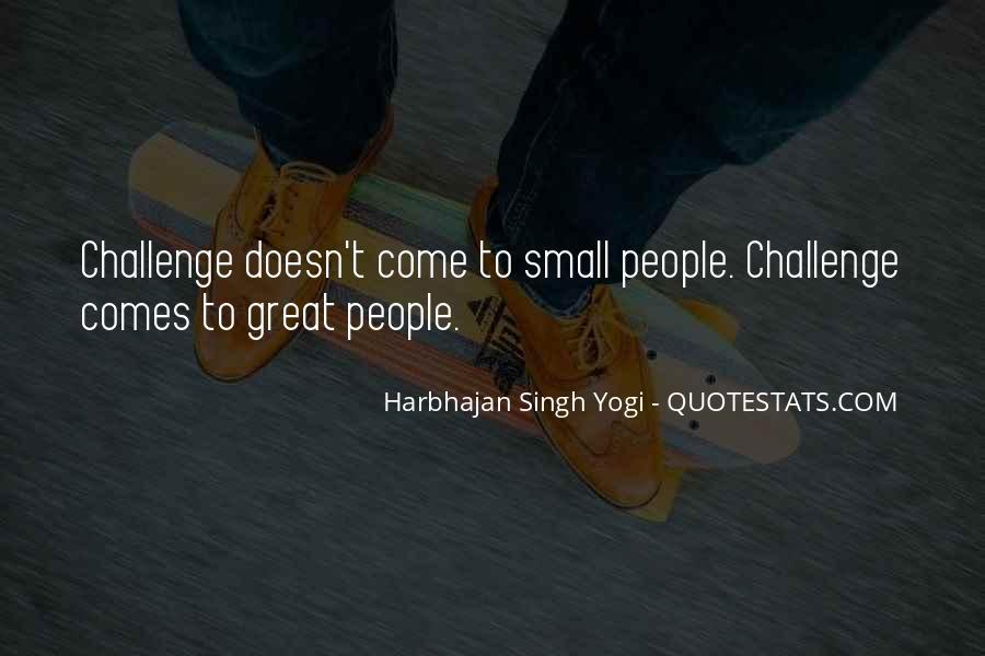 Harbhajan Yogi Quotes #743379