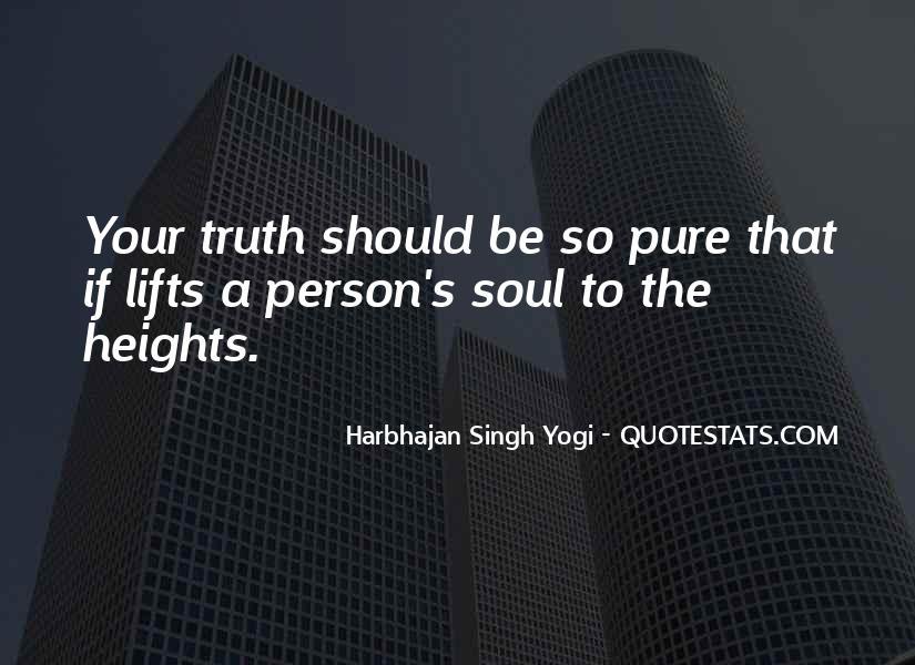 Harbhajan Yogi Quotes #765289