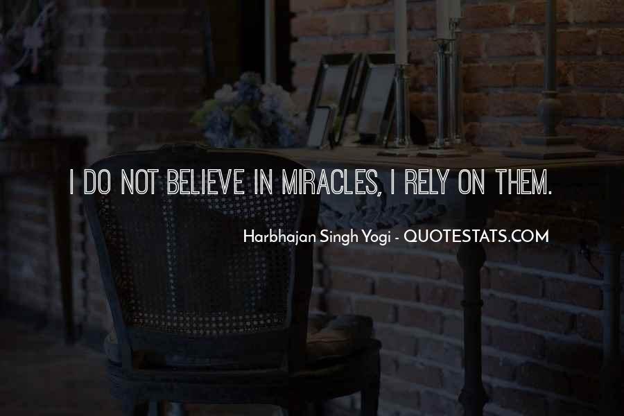 Harbhajan Yogi Quotes #80163