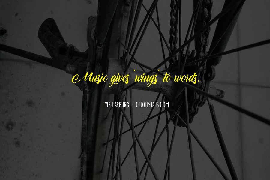Harburg Quotes #1514575