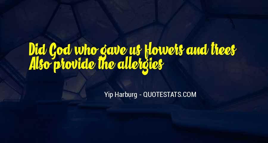 Harburg Quotes #823261