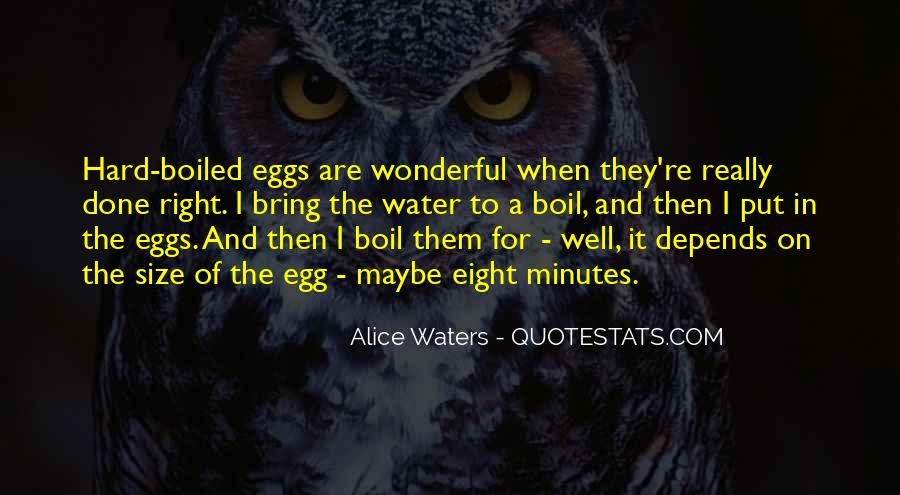 Hard Boiled Quotes #1412051