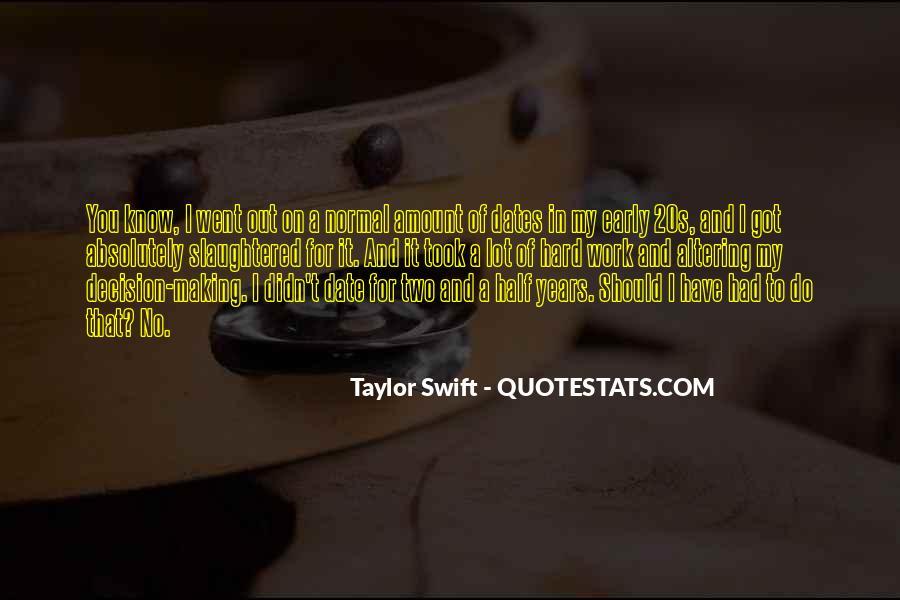 Hard Decision Quotes #118496