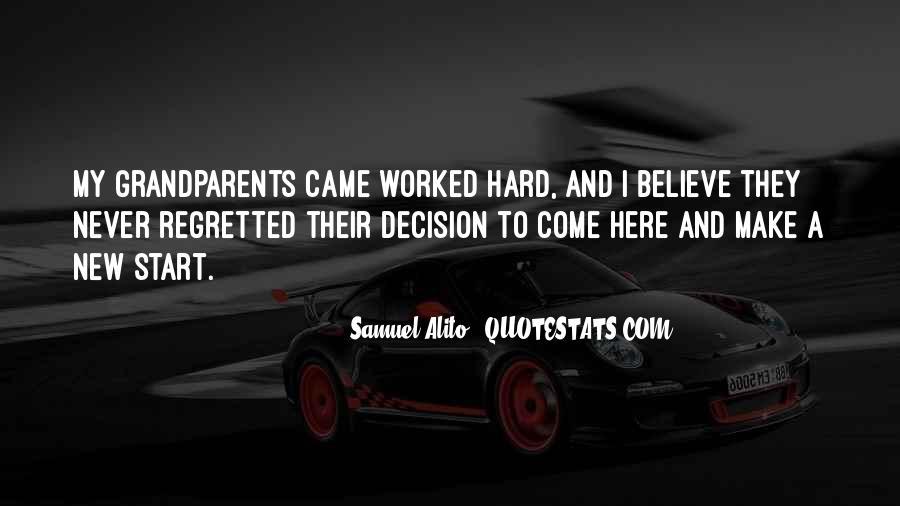 Hard Decision Quotes #21563