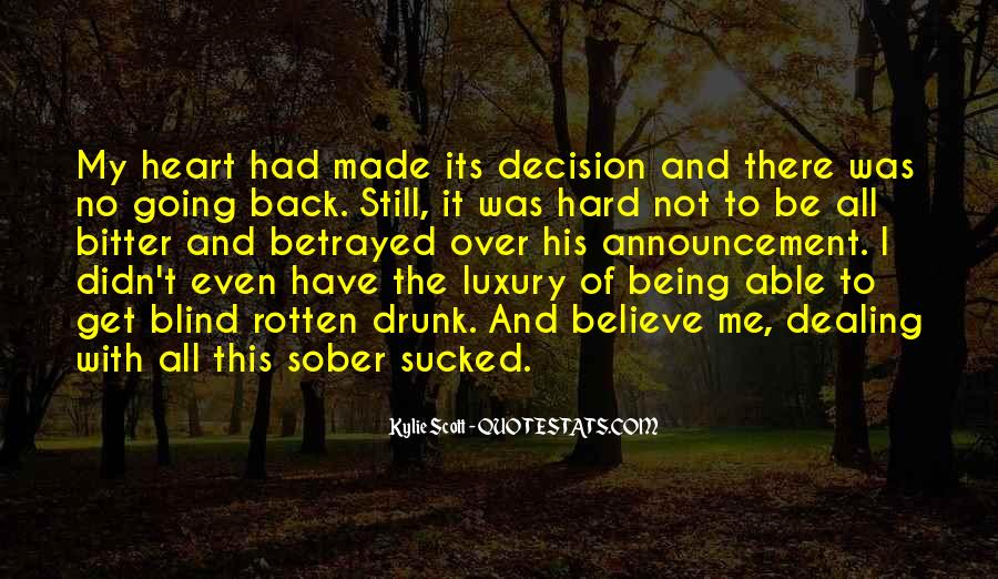 Hard Decision Quotes #630960