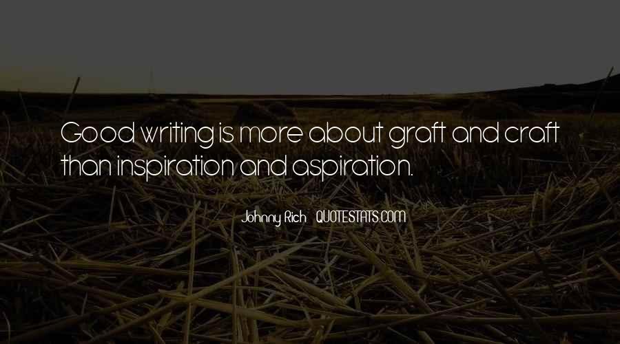 Hard Graft Quotes #1797924