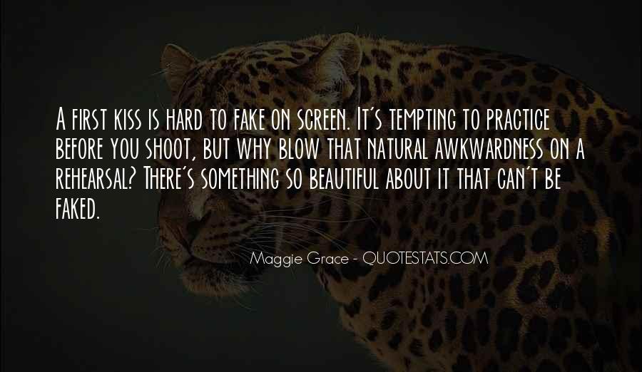 Hard Kiss Quotes #1393835