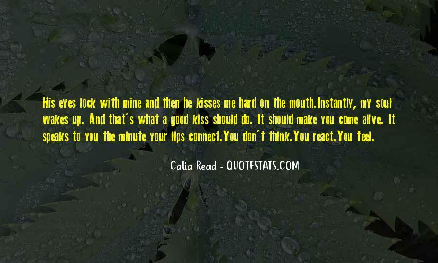 Hard Kiss Quotes #1785086
