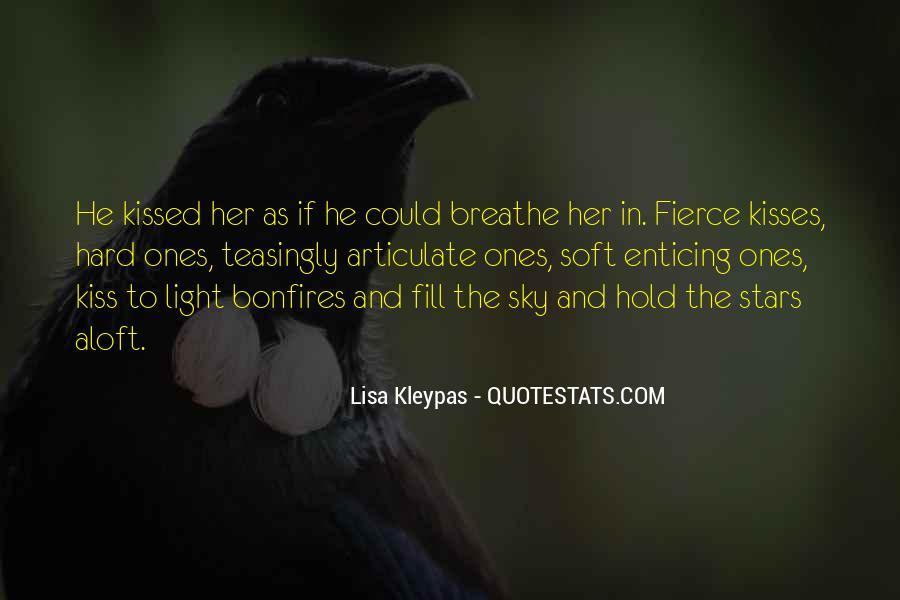 Hard Kiss Quotes #184622