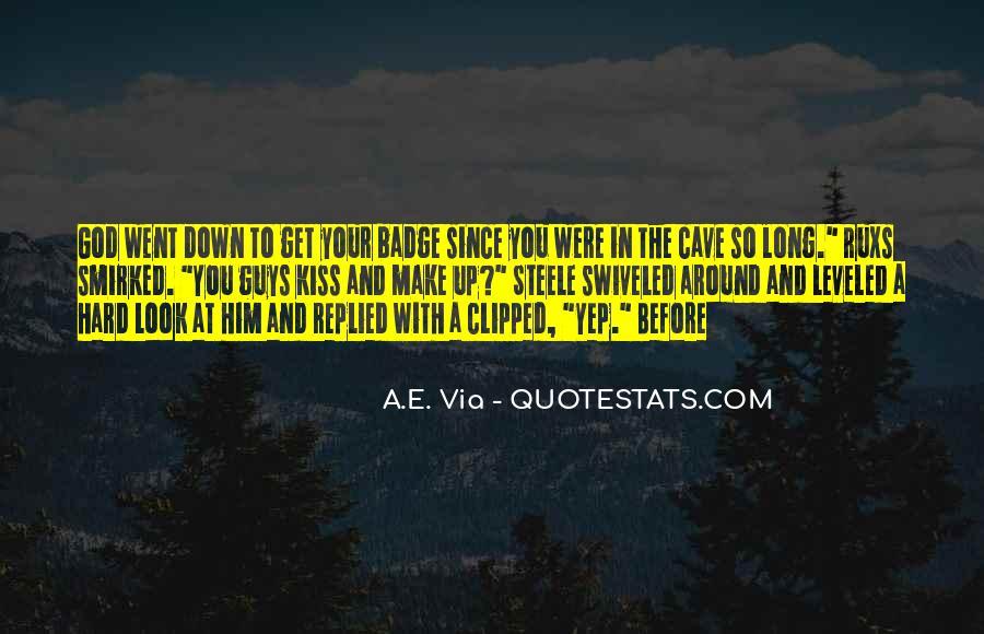 Hard Kiss Quotes #743280