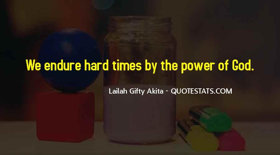 Hard Life God Quotes #1375762