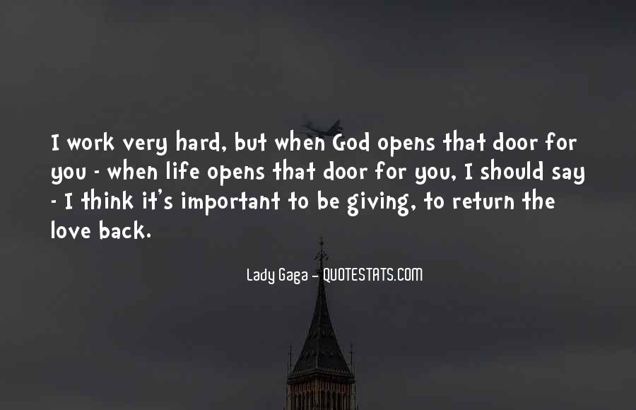 Hard Life God Quotes #1479201