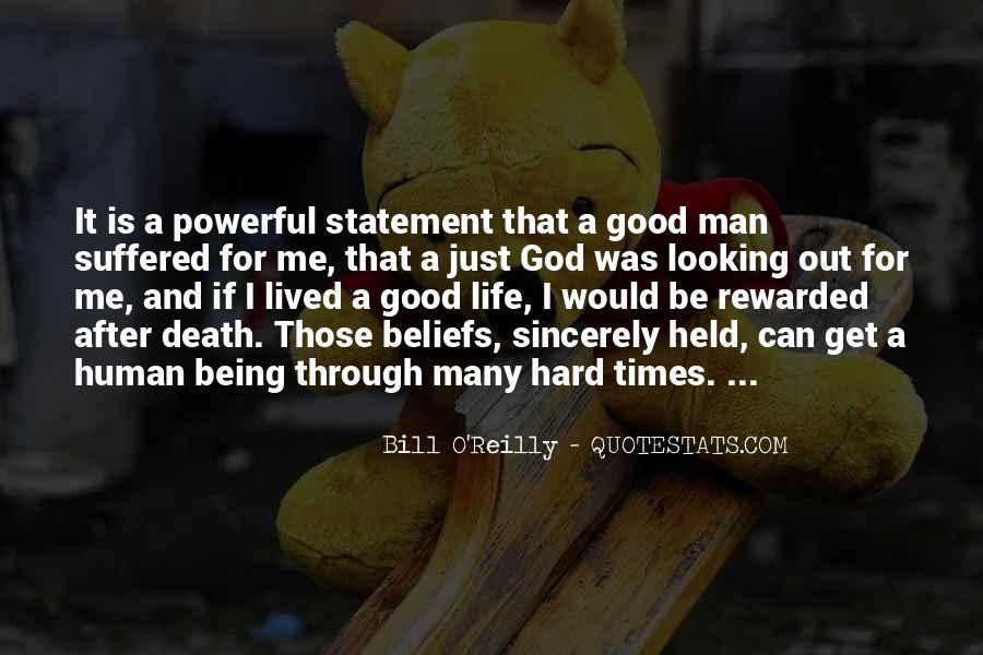 Hard Life God Quotes #1506923