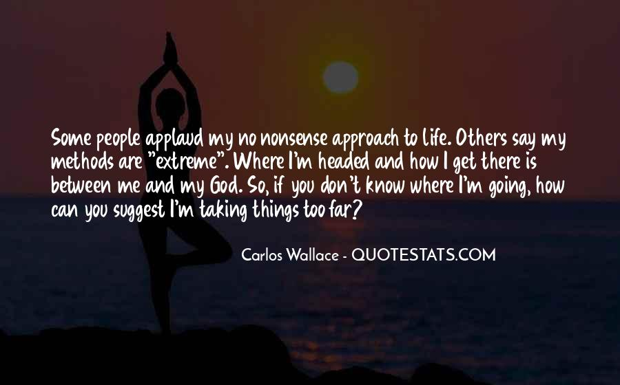 Hard Life God Quotes #1649291