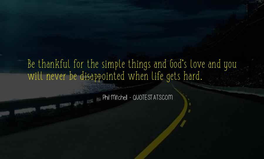 Hard Life God Quotes #289646