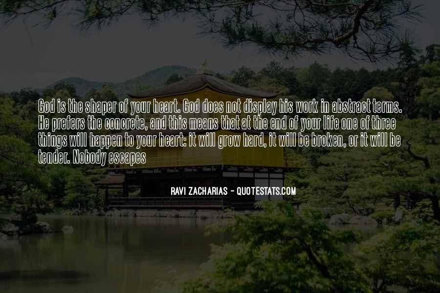 Hard Life God Quotes #297285