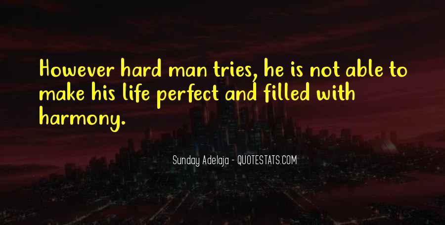 Hard Life God Quotes #355842