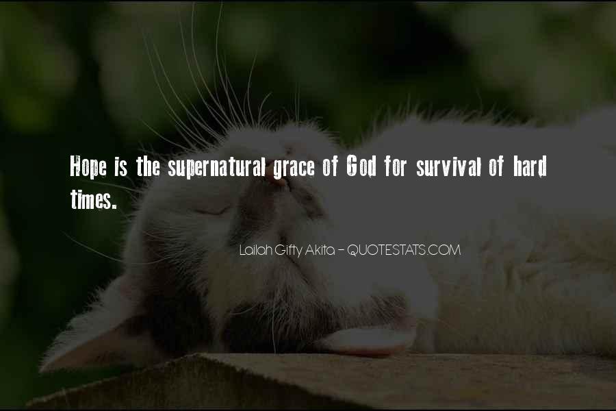 Hard Life God Quotes #382077