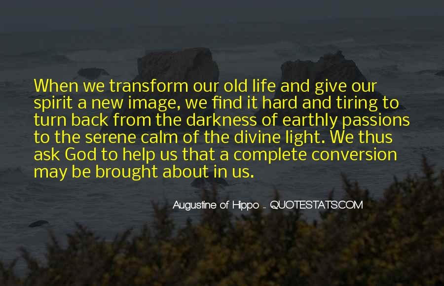 Hard Life God Quotes #417018