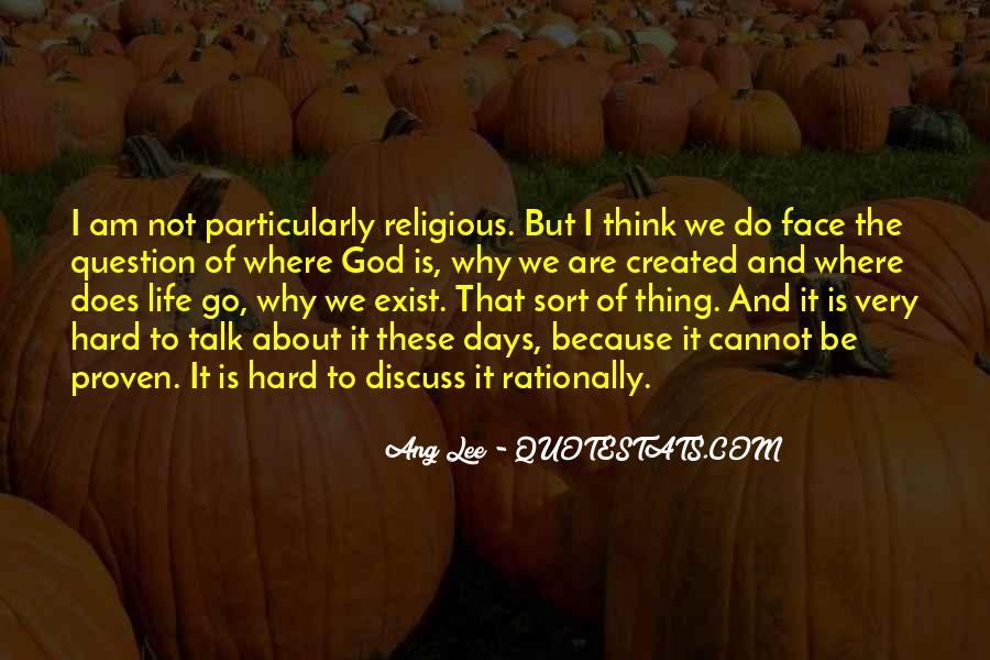 Hard Life God Quotes #787002
