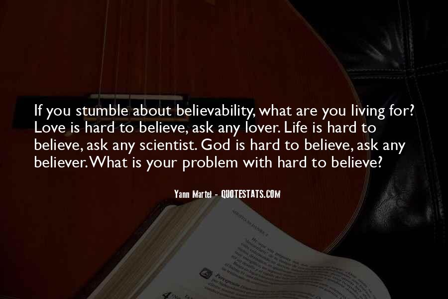 Hard Life God Quotes #811259