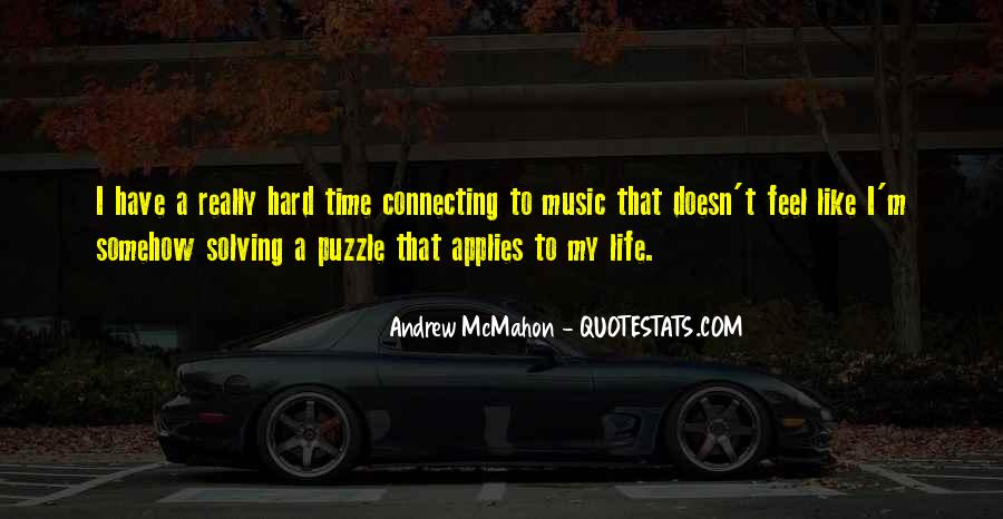 Hard Life Time Quotes #941155