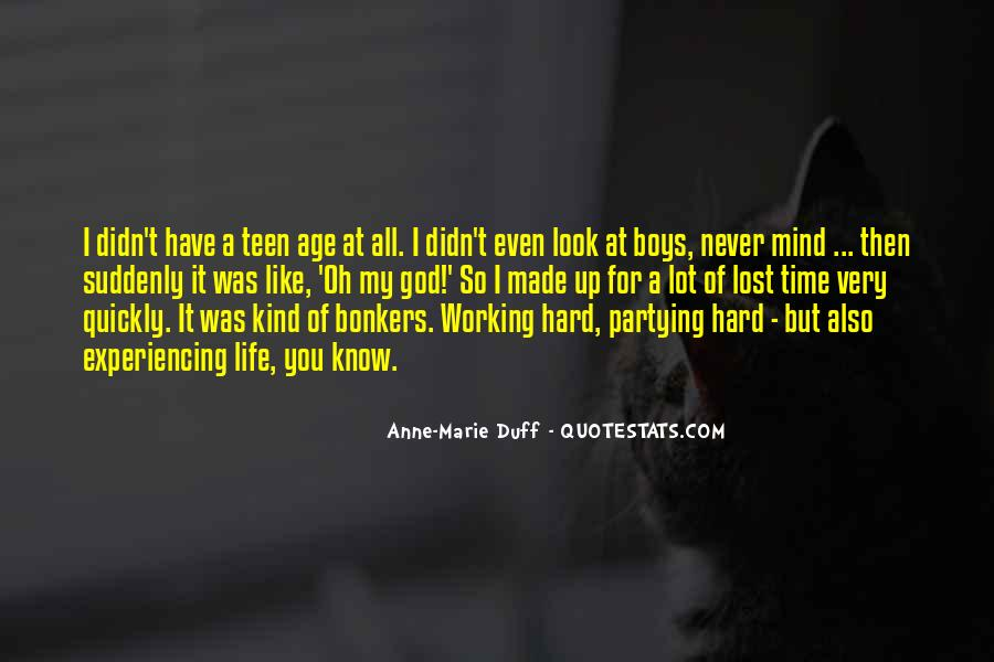 Hard Life Time Quotes #94767