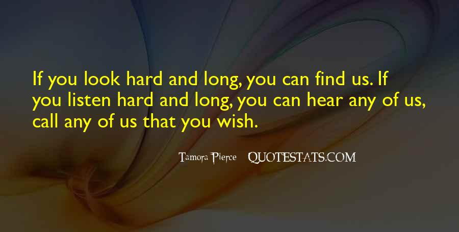 Hard Of Hearing Quotes #1412964