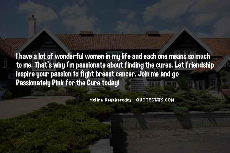 Quotes About The Cure For Cancer #1193169