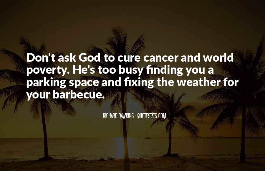 Quotes About The Cure For Cancer #1469031