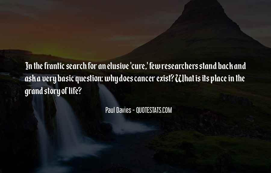 Quotes About The Cure For Cancer #295667