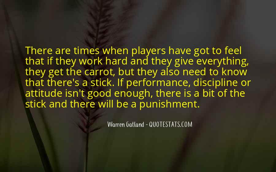 Hard Work And Attitude Quotes #1224050
