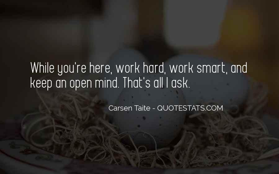 Hard Work And Attitude Quotes #1835397