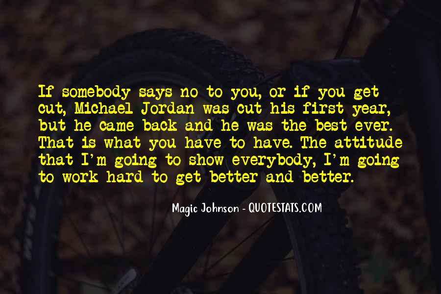 Hard Work And Attitude Quotes #207868