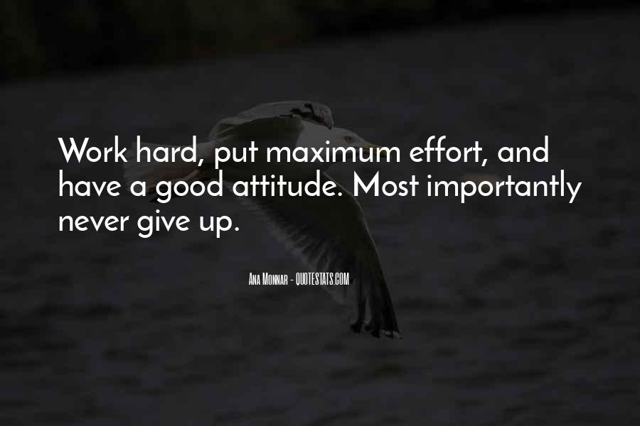 Hard Work And Attitude Quotes #365351