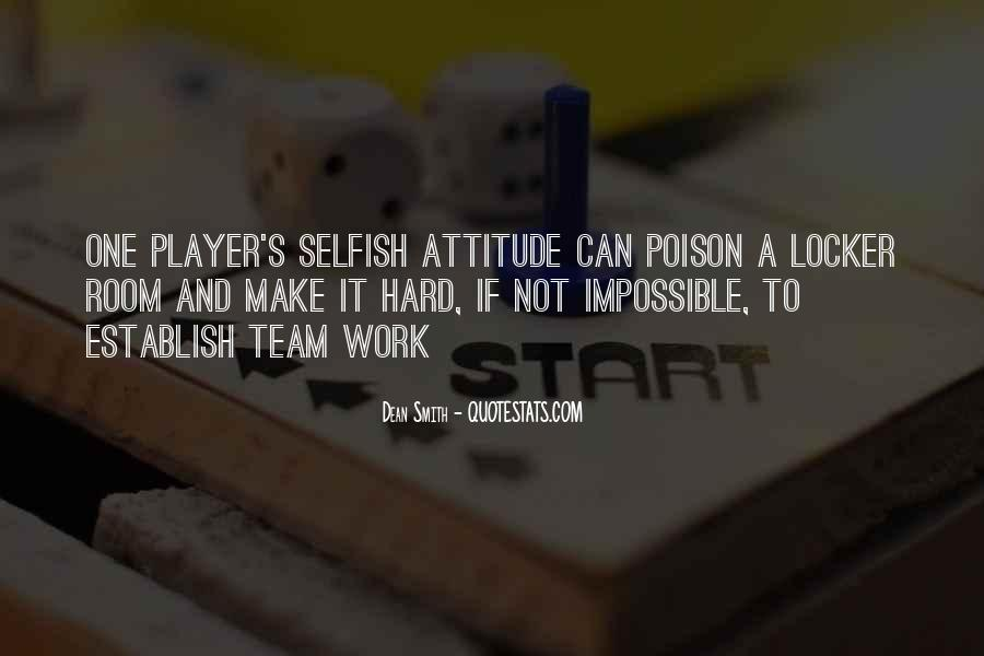 Hard Work And Attitude Quotes #634689
