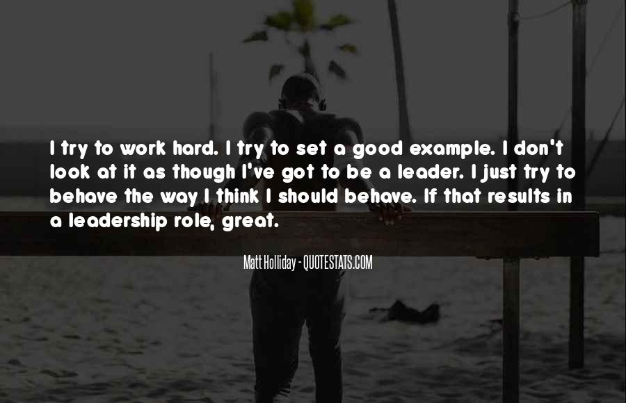 Hard Work Good Results Quotes #1753015
