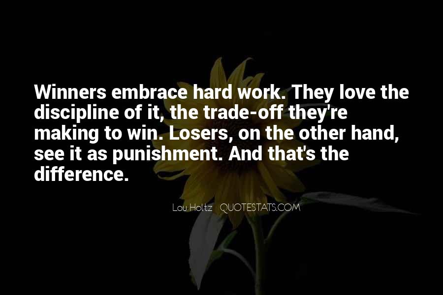 Hard Work Love Quotes #199405