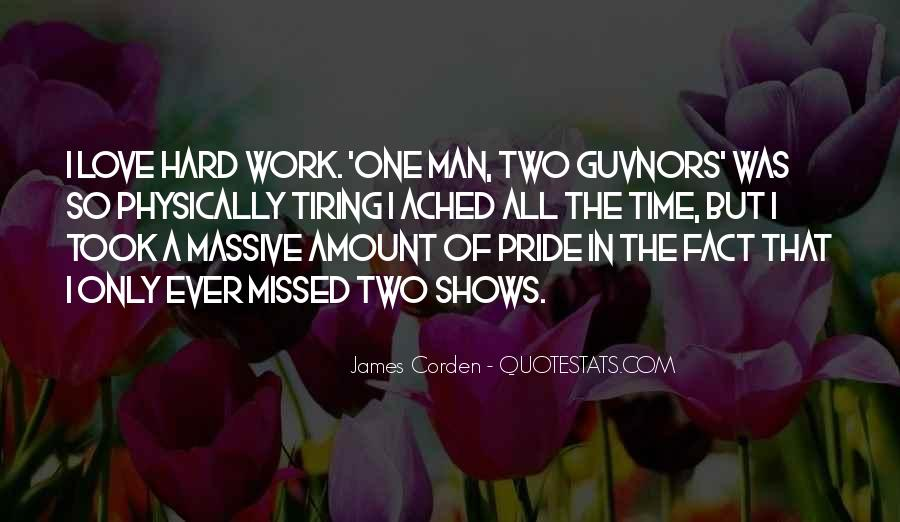 Hard Work Love Quotes #45093