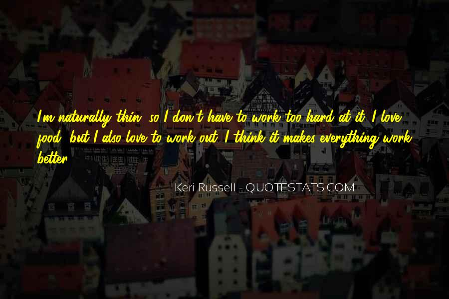Hard Work Love Quotes #673644