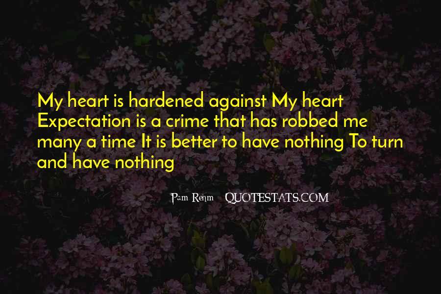 Hardened Quotes #272614