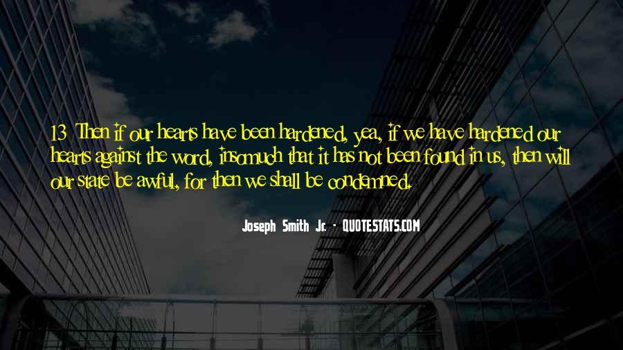 Hardened Quotes #562614