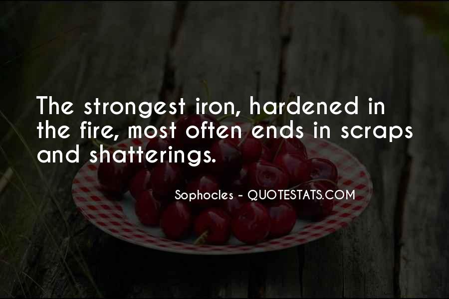 Hardened Quotes #704251