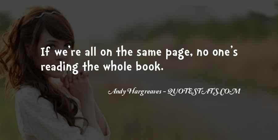 Hargreaves Quotes #186089