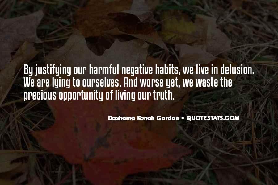 Harmful Habits Quotes #129642