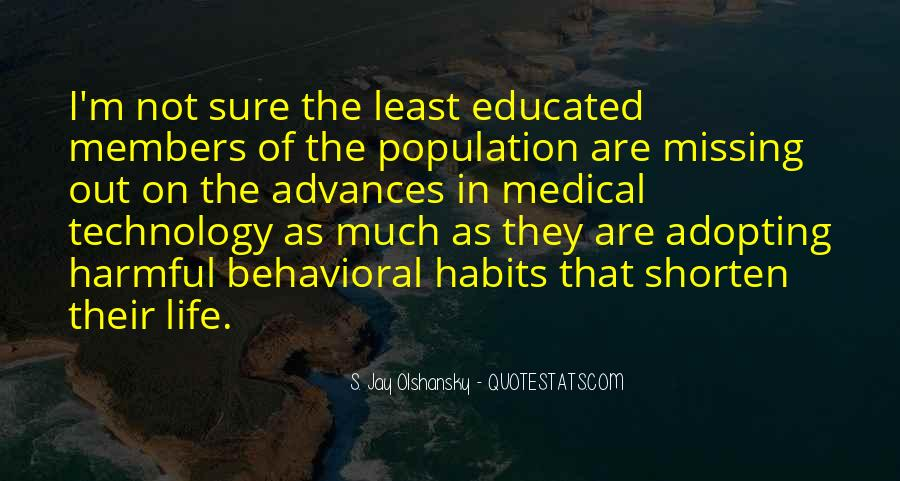 Harmful Habits Quotes #1422917