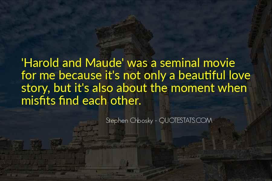 Harold Et Maude Quotes #1570875